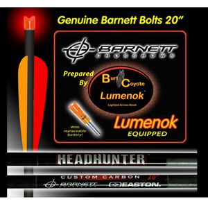 BURT COYOTE LUMENOK CRESCENT BOLT ENDS RED 3-PACK