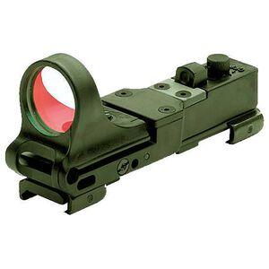 C-More Railway Click Red Dot Sight 8 MOA Weaver Picatinny Mount Polymer OD Green CRWODG-8
