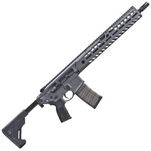 "SIG Sauer MCX Virtus Patrol Semi Auto Rifle 5.56 NATO 16"" Barrel 30 Rounds Free Float M-LOK Compatible Hand Guard Side Folding/Collapsible Stock Concrete Gray Finish"