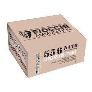 Fiocchi 5.56 NATO Ammunition 420 Rounds FMJBT 55 Grains