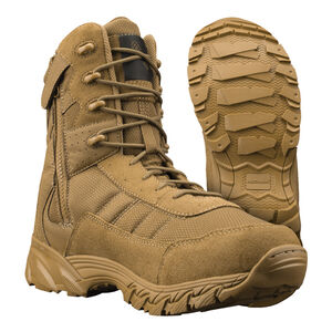 """Original S.W.A.T. Men's Altama Vengeance Side-Zip 8"""" Coyote Boot Size 7.5 Regular 305303"""