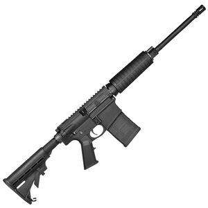 "Del-Ton Echo AR Style Semi Auto Rifle .308 Winchester 16"" Barrel 20 Rounds Optics Ready Carbine Mil-Spec Polymer Furniture Matte Black Finish"