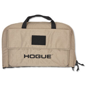 Hogue Gear Large Pistol Bag Front Pocket With Handles Nylon FDE 59273