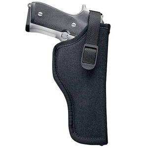 "Uncle Mike's Sidekick Hip Holster 7""-8.5"" Barrel Medium/Large Double Action Revolvers Right Hand Nylon Black 81041"