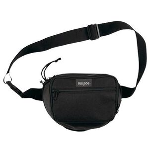 "Bulldog Cases Medium Fanny Pack 10""x7.5"" Nylon Black BD860"