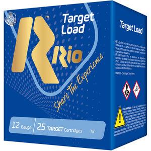 "RIO Ammunition Target Load Trap Light HC-32 12 Gauge Ammunition 250 Rounds 2-3/4"" Shell #7.5 Lead Shot 1-1/8oz 1150fps"