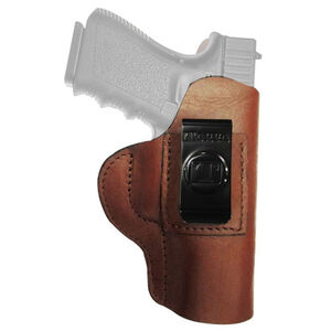 Tagua Gun Leather Super Soft Holster fits GLOCK 26/27/33 IWB Leather Right Hand Brown