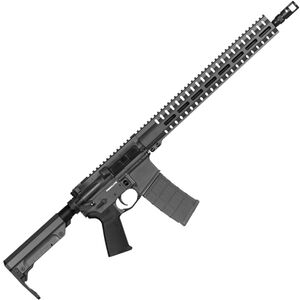 "CMMG Resolute 300 Mk4 9mm Luger AR-15 Semi Auto Rifle 16"" Barrel 30 Rounds Uses ARC Magazines RML15 M-LOK Handguard RipStock Collapsible Stock Sniper Grey Finish"