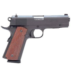 "ATI FX1911 Semi Automatic Pistol .45 ACP 4.25"" Barrel 8 Round Capacity Wood Grips Matte Black Finish GFX45GI"