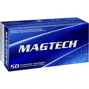 Magtech 9mm Luger Ammunition 50 Rounds 115 Grain Full Metal Jacket 1135fps