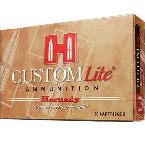 Hornady Custom Lite 7mm-08 Remington Ammunition 20 Rounds SST 120 Grains 80572
