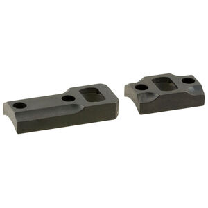 Leupold Ruger American Two Piece Dual Dovetail Base Set Steel Black