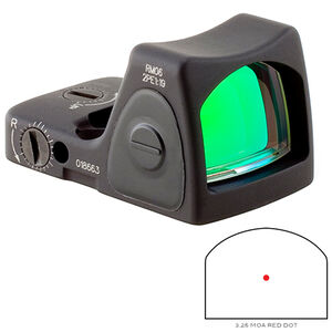 Trijicon RMR Type 2 Adjustable LED Sight 3.25 MOA Red Dot No Mount Black
