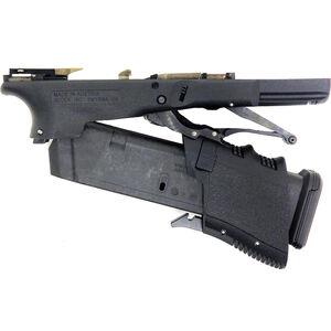 Full Conceal M3D G19 Gen 3 Lower Receiver Polymer Folding Semi Auto Pistol Frame Black