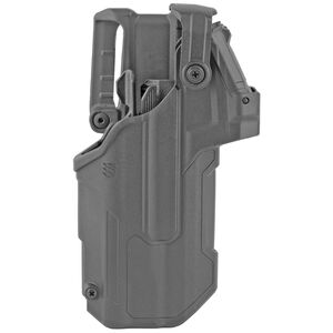 Blackhawk T-Series L3D Red Dot Sight Duty Holster Fits Glock 17/19/22/31 with TLR1/TLR2 Right Hand Polymer Black