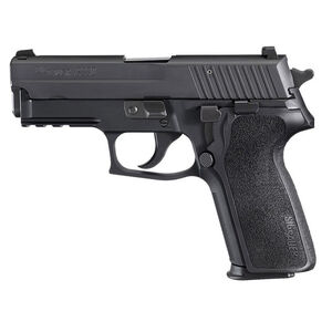 "SIG Sauer P229 Nitron Compact Semi Auto Pistol 9mm Luger 3.9"" Barrel 15 Rounds SIGLite Sights SIG Rail E2 Grip Alloy Frame Matte Black Finish"