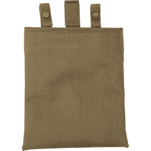 """Voodoo Tactical Roll Up Dump Pouch 12""""x10"""" Nylon Coyote 20-9224007000"""
