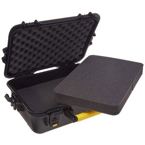 Plano Gun Guard AW Series Large Pistol/Accessory Hard Case Polymer Black 108020