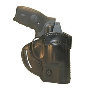 BLACKHAWK! Compact Askins Leather Concealment Holster S&W J Frame Right Hand Black