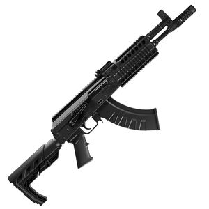Crosman Full Auto AK1 .177 Caliber Full/Semi Auto CO2 BB Rifle Nylon Fiber Adjustable Stock Black