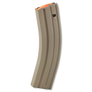 ASC AR-15 Magazine .223/5.56 40 Rounds Stainless Steel Flat Dark Earth 40-223-SS-FDE-O-ASC