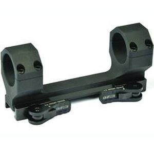 American Defense Delta 30mm Quick Detach Scope Mount Aluminum Black AD-DELTA-30