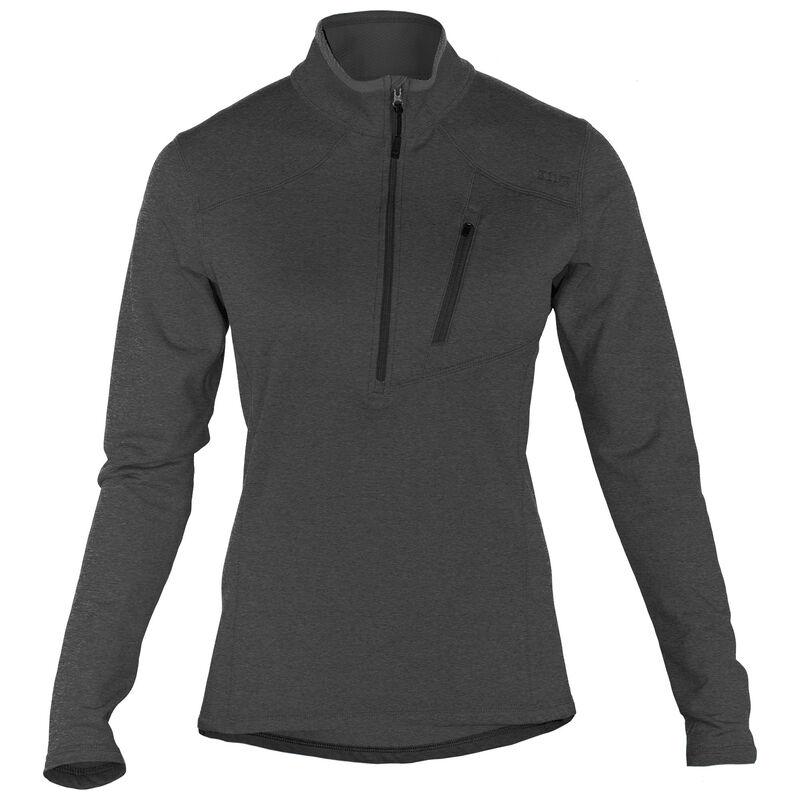 5.11 Tactical Women's Glacier Half Zip Polyester/Spandex XL Jade 62005215XL
