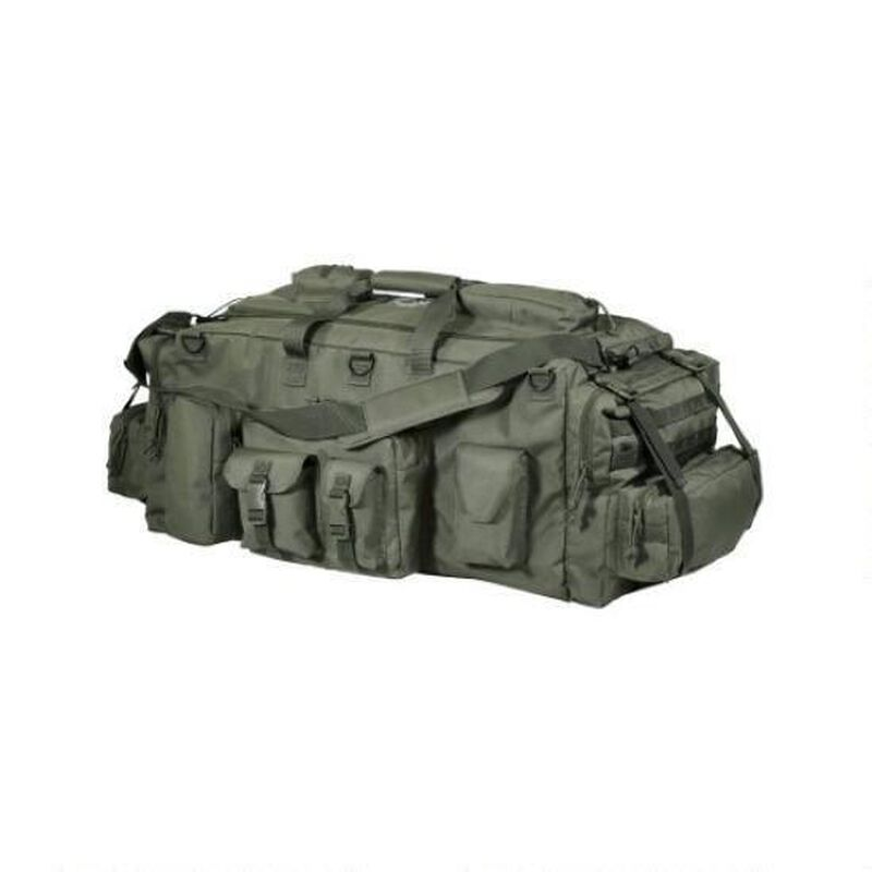 Voodoo Tactical Mojo Load-Out Bag With Backpack Straps OD Green 15-9685004000