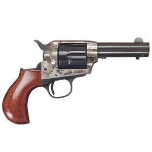 "Cimarron Lightning Single Action Revolver .38 Special 3.5"" Barrel 6 Rounds Case Hardened Frame Walnut Grip Blued CA980"