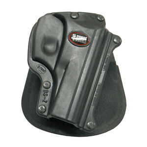 Fobus Standard Series Bersa Thunder/Firestorm Paddle Holster Right Hand Draw Passive Retention Injection Molded Polymer Matte Black BS2