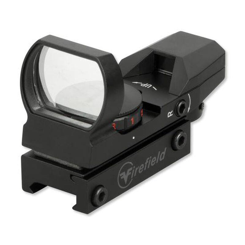 Firefield Multi Reflex Sight Red and Green Dot Aluminum Matte Black