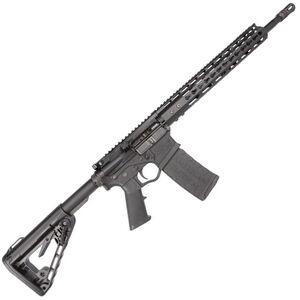 "ATI MilSport AR-15 5.56 NATO Semi Auto Rifle 16"" Barrel 30 Rounds KeyMod Hand Guard Rogers Super-Stoc Collapsible Stock Matte Black Finish"