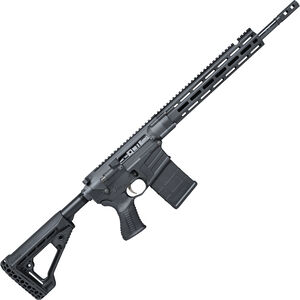 "Savage Arms MSR 10 Hunter Semi Auto Rifle .338 Federal 20 Rounds 16.125"" Barrel Free Float M-LOK Handguard AXIOM Stock Black"