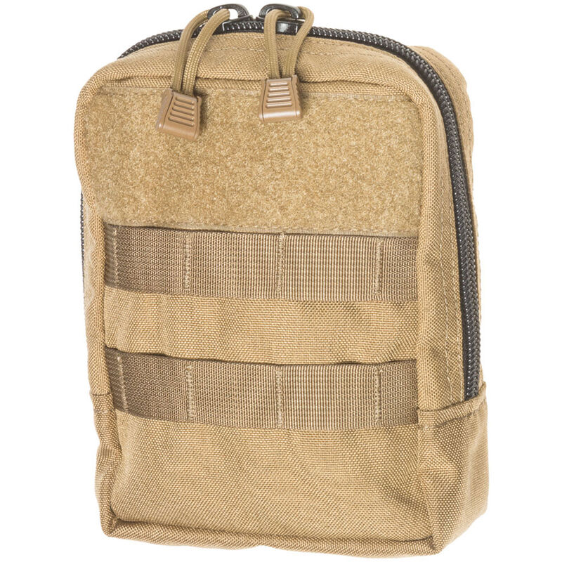 Tac Shield Vertical Organizer MOLLE Gear Pouch Coyote