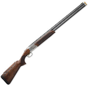 """Browning Citori 725 Pro Sporting Over/Under Shotgun 12 Gauge 30"""" Ported Barrels 2.75"""" Chambers 2 Rounds Pro Balance Grade III/IV Walnut Stock Adjustable Comb Silver Receiver Blued 0180024010"""