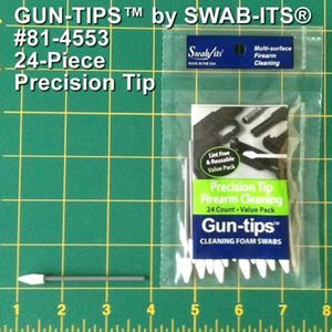 Swab Its Precision Tip Gun Cleaning Swabs 24 Pieces 81-4553