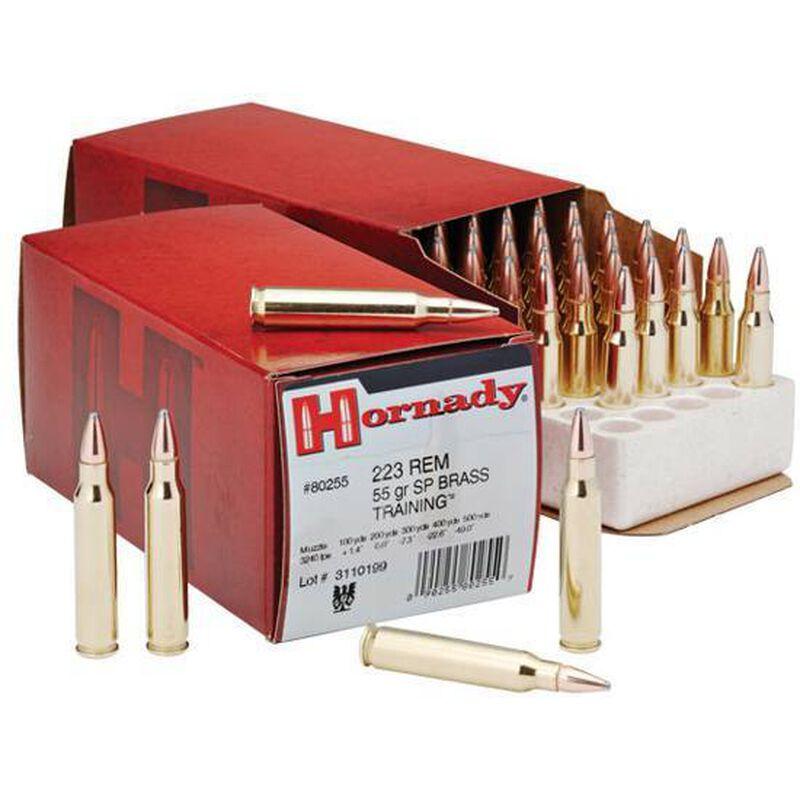 Hornady Custom .223 Remington Ammunition 50 Rounds Spire Point 55 Grains 80255