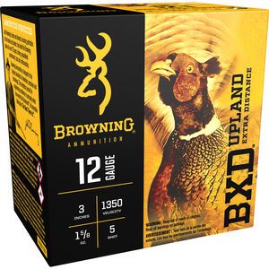 "Browning 12 Gauge Ammunition 25 Rounds 3"" 1-5/8 oz. #5 Shot"