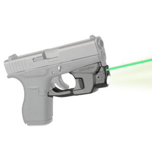 LaserMax Centerfire Light/Laser Sight System 100 Lumen Light/Green Laser GLOCK 42/43 Polymer Matte Black