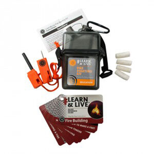Ultimate Survival Technologies Learn & Live Fire Kit 20-02760