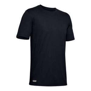 Under Armour Men's Tactical Cotton Short Sleeve T-Shirt Size Large Cotton Blend Dark Navy