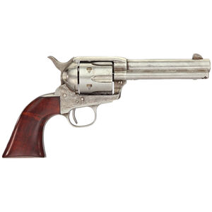 "Taylor's & Co Cattleman .357 Mag Single Action Revolver 4.75"" Barrel 6 Rounds Walnut Grips Antique Finish"