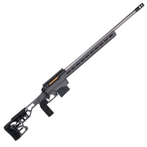 "Savage Firearms 110 Elite Precision 6mm Creedmoor Bolt Action Rifle 26"" Barrel 10 Rounds Magazine MDT ACC Chassis Cerakote Grey"