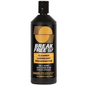 Break-Free CLP-4 Liquid 4 oz. Cleaner/Lubricant/Protectant 10 Pack CLP-4-10