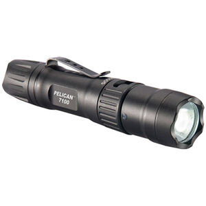 Pelican 7100 Tactical Flashlight 700 Lumens Led Rechargeable Tail Switch Black