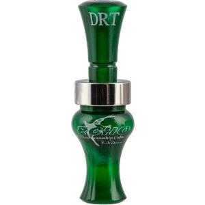 Echo Calls DRT Double Reed Duck Call Acrylic Green
