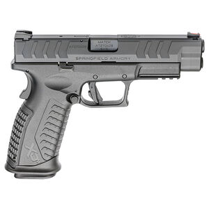 "Springfield Armory XD-M Elite 9mm Luger Semi Auto Pistol 4.5"" 20 Round Black"