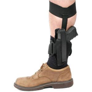 GLOCK 26 27 and 33 Blackhawk Ankle Holster Size 12 Left Hand Black