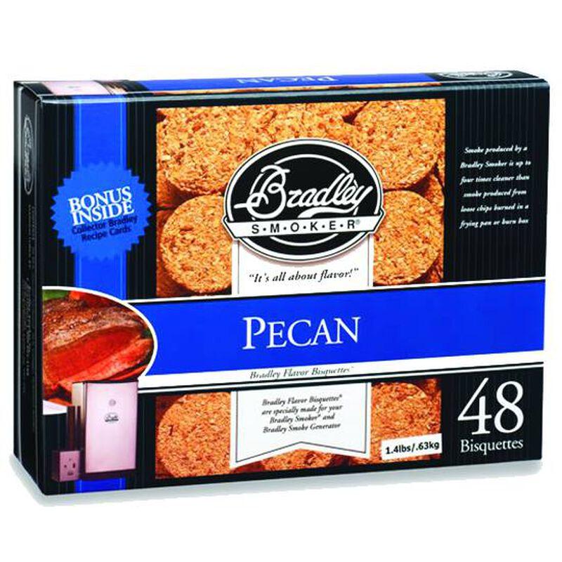 Bradley Smoker Bisquettes Pecan 48 Pack BTPC48