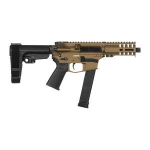 "CMMG Banshee 300 MkG .45 ACP AR-15 Semi Auto Pistol 5"" Barrel 26 Rounds Uses GLOCK Style Magazines RML4 M-LOK Handguard CMMG Micro/CQB RipBrace Burnt Bronze Finish"